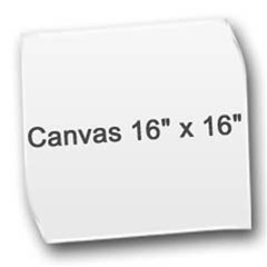 Canvas 16  x 16  (Unframed)