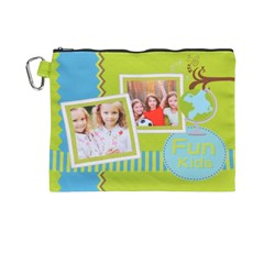 Canvas Cosmetic Bag (XL)