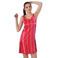 Sleeveless Satin Nightdress
