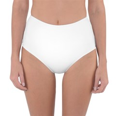 Reversible High-Waist Bikini Bottoms