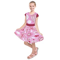 Kids  Short Sleeve Dress