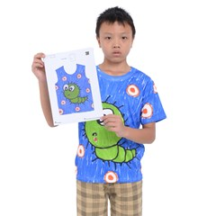 Kid s T-Shirt A4 Paper Drawing