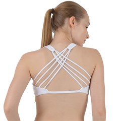 Criss Cross Racerback Sports Bra