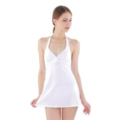 Halter Swimsuit Dress