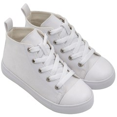 Kid s Mid-Top Canvas Sneakers