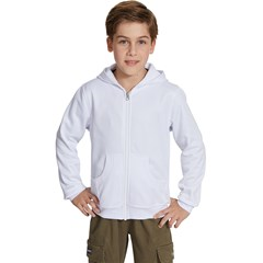 Kids Zipper Hoodie Without Drawstring