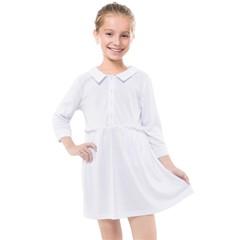 Kids  Quarter Sleeve Shirt Dress