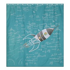 Shower Curtain 66  x 72  (Large)