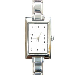 Rectangular Italian Charm Watch