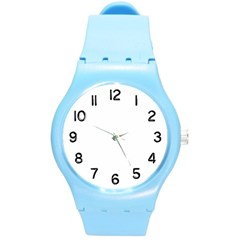 Round Plastic Sport Watch Medium