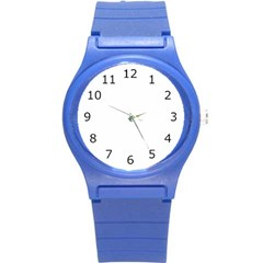 Round Plastic Sport Watch Small