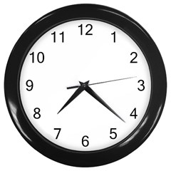 Wall Clock (Black)