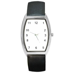 Tonneau Leather Watch