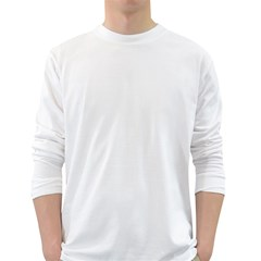 Men s Long Sleeve T-shirt (White)
