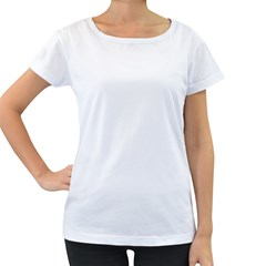 Women s Loose-Fit T-Shirt (White)