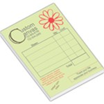 custom canvas receipts - Large Memo Pads