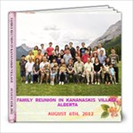 FAMILY REUNION - 8x8 Photo Book (20 pages)