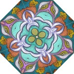 Crown Royale teal - Folding Umbrella
