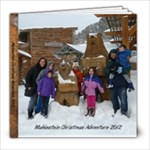 Christmas Adventure 2012 - 8x8 Photo Book (20 pages)