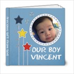 Vincent Photobook - 6x6 Photo Book (20 pages)
