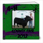 Taylors 4-H Album 2012 - 8x8 Photo Book (20 pages)