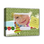 merry christmas, happy new year, xmas - Deluxe Canvas 14  x 11  (Stretched)