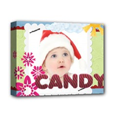 kids, fun, child, play, happy - Deluxe Canvas 14  x 11  (Stretched)