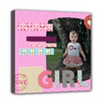 kids, fun, child, play, happy - Mini Canvas 8  x 8  (Stretched)
