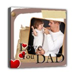 fathers day - Mini Canvas 8  x 8  (Stretched)