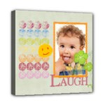 kids, love, family, happy, play, fun - Mini Canvas 8  x 8  (Stretched)