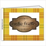rustic frame - 9x7 Photo Book (20 pages)