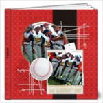 Baseball 12x12 Photo Book - 12x12 Photo Book (20 pages)