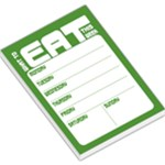 Weekly Planner - Green - Large Memo Pads