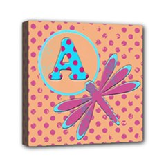 Letter A 6 x 6 canvas - Mini Canvas 6  x 6  (Stretched)