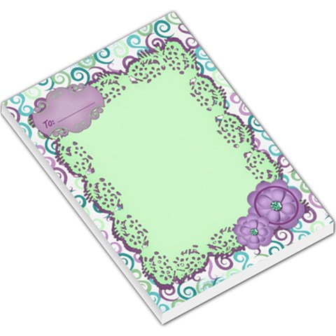 Memo Pad By Shelly   Large Memo Pads   29yxnao1mupd   Www Artscow Com