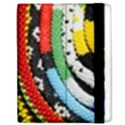 Multi-Colored Beaded Background Apple iPad 3/4 Flip Case View2
