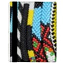 Multi-Colored Beaded Background Apple iPad 3/4 Flip Case View3
