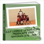 Edf Prebenjamín 2012-2013 - 8x8 Photo Book (20 pages)