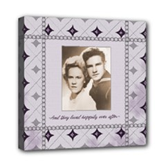 wedding canvas 2 - Mini Canvas 8  x 8  (Stretched)