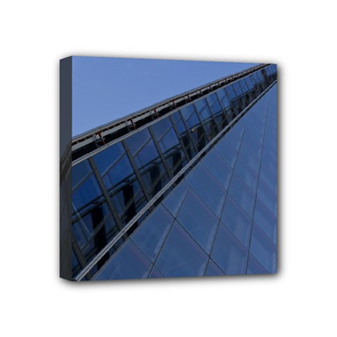 The Shard London 4  X 4  Framed Canvas Print by Londonimages