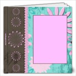 owl pink - 12x12 Photo Book (20 pages)