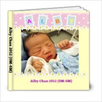 Alby 0001 - 6x6 Photo Book (20 pages)