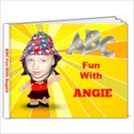 ABC fun with Angie - 7x5 Photo Book (20 pages)