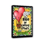 Rise - Mini Canvas 6  x 4  (Stretched)