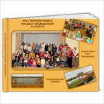 WATSON HOLIDAY CELEBRATION - 11 x 8.5 Photo Book(20 pages)