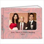 Wedding photo book for Dad - 7x5 Photo Book (20 pages)