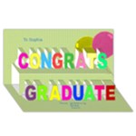 My Graduate 3D Greetiing Card - Congrats Graduate 3D Greeting Card (8x4)