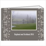 England/Scotland 2013 - 11 x 8.5 Photo Book(20 pages)