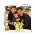 Yik Hei 1st Birthday - 6x6 Deluxe Photo Book (20 pages)