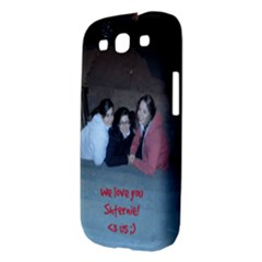 Samsung Galaxy S III Hardshell Case  Back/Left
